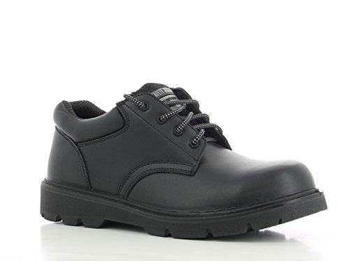 SAFETY JOGGER X1110 Men Safety Toe Lightweight EH PR Water Resistant Shoe, M 10, Black by SAFETY JOGGER (Image #1)