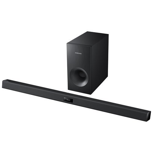 Samsung HW-FM35 2.1 Channel Home Theater Sound Bar with Subwoofer and Bluetooth (Certified Refurbished)