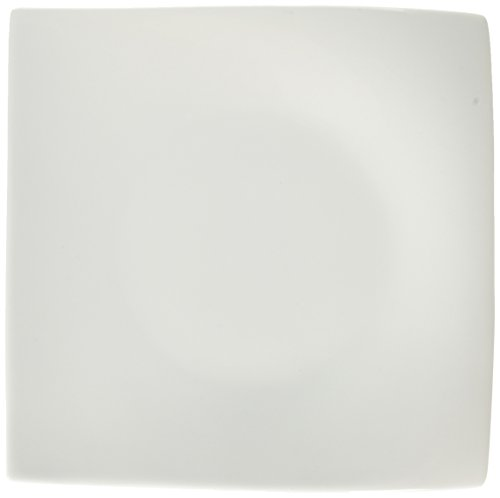 Maxwell and Williams Basics Motion Square Plate, 8-Inch, White
