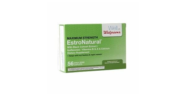 Amazon com: Walgreens EstroNatural Caplets, 56 ea: Health & Personal