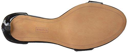 Høyhælte Madden Av Patent Svart Navarro Sandaler Kvinners Steven Steve Sgpw7xqXq