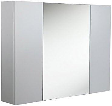 Fresca 32″ White Medicine Cabinet w/ 3 Doors