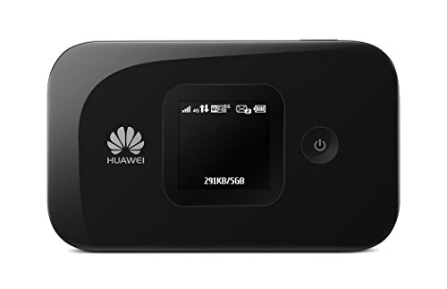 Huawei E5577s-321 150 Mbps 4G LTE Mobile WiFi Hotspot (4G LTE in Europe, Asia, Middle East, Africa & 3G Globally, up to 12 Hours Working time) (Black)