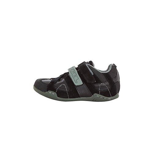 Diesel Kinder Sneakers SQUARE schwarz