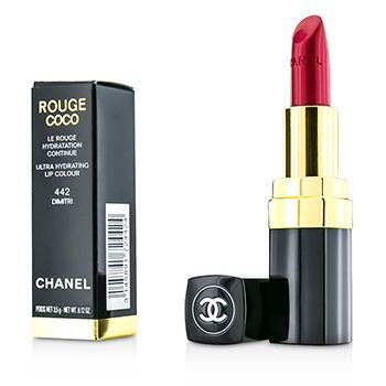 Chanel Pink Lipstick - Chanel Rouge Coco Ultra Hydrating Lip Colour 3.5g/0.12ozColor: # 442 Dimitri