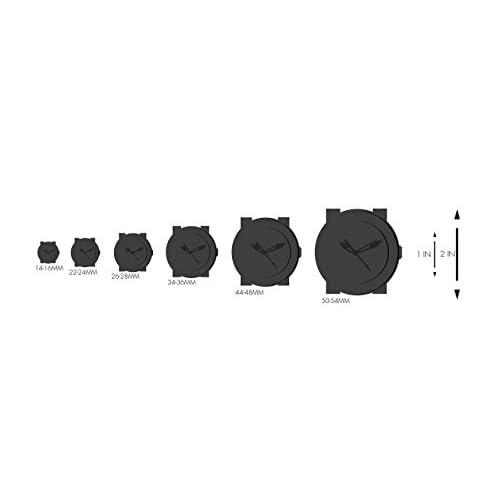 Bulova Men's 96C107 Black Dial Stainless Steel Watch