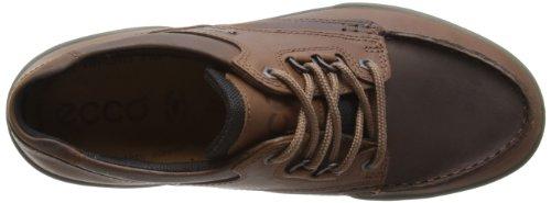EccoTrack II - Zapato brogue hombre Marrón (BISON/BISON741)