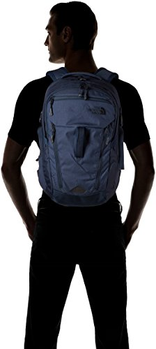 The North Face Surge Urban Navy Lthr/Unban Navy Unisex Daypack by The North Face (Image #4)