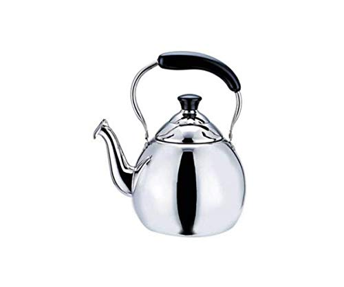 - Anak Teapot Stainless Steel Tea Pot Coffee Water Small Kettle Filter Set Warmer Teakettle for Stovetop (Size : 4l)