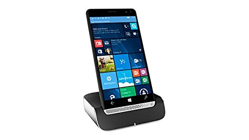 HP Elite X3 Windows 10 Mobile, Hand PC Tablet and Unlocked Business Phone With HP Elite X3 Desk Dock (Certified Refurbished)