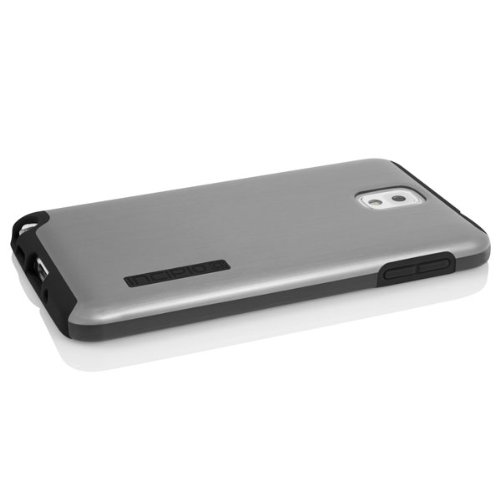 Incipio DualPro SHINE for Samsung Note 3 - Carrying Case - Retail Packaging - Black/Black