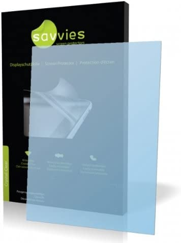 Savvies Crystalclear Screen Protector for Thalia Oyo Protective Film Display Protection Film 100/% fits