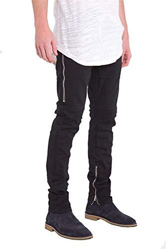 Morbidi Blue Comodi Ragazzi Pantaloni D Ssig Jeans Cotton Elastici Alti Dritti Classiche Da Fit Fashion Slim Uomo PPZv8