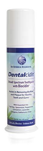 (Bio-Botanical Research Dentalcidin Broad-Spectrum Toothpaste with Biocidin, 3oz)