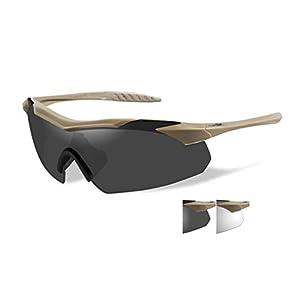 Wiley X 3511 WX Vapor Changeable Lens Ballistic Eyewear