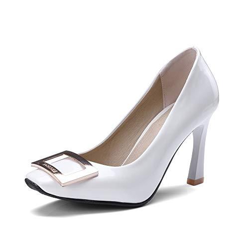 DGU00597 AN Blanc Compensées 36 Blanc Femme Sandales 5 EU Pxdx7pHqw