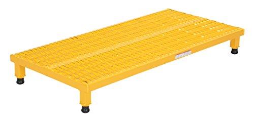 (Vestil AHW-L-2448 Adjustable Work-Mate Stand with Serrated Deck, Steel, 48