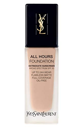 (YVES SAINT LAURENT All Hours Full Coverage Matte Foundation SPF 20 25ml # B10 Porcelain)