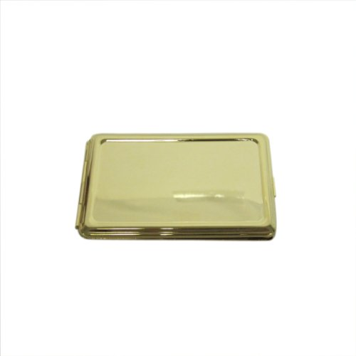 Classic Gold Brass Metal Hard Cover Small Address Phone Book Holder