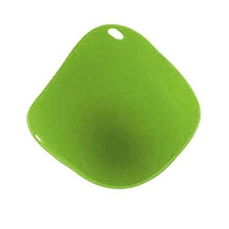 Newgreen - Molde de Silicona para escalfador de Huevos Verde