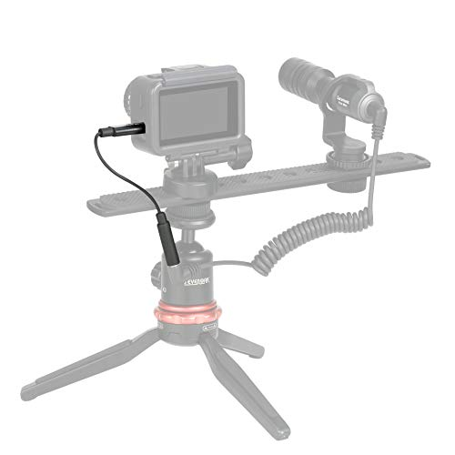 SR-C2007 Gold-Plated 3.5mm Female Microphone & Audio Adapter Cable for DJI Osmo Action