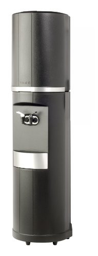 Fahrenheit Free-Standing Hot and Cold Water Cooler Finish: Black with Silver Trim