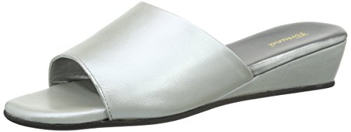 Open Back Women's Fortuna Silver Patricia 017 Slippers Silber EwFgqRxpg
