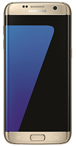 Samsung Galaxy S7 EDGE Smartphone (5,5 Zoll (13,9 cm) Touch-Display, 32GB interner Speicher, Android OS) gold