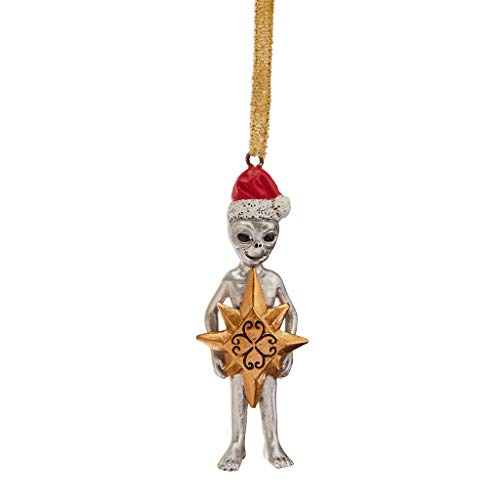 Design Toscano Wiseman Star Christmas Alien Holiday Ornament, Full ()