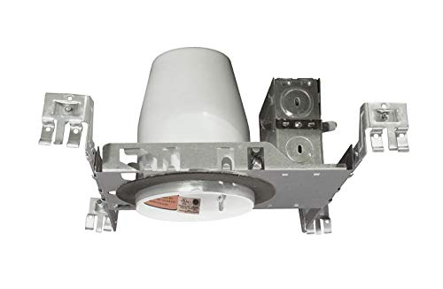 NICOR Lighting 3-Inch IC Rated LED Down Lighting Recessed New Construction Housing (13200A)