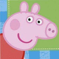 10 opinioni per 16 tovaglioli di carta Peppa Pig 33x33 cm