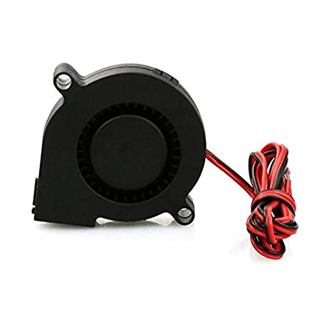 Ruirain-ES 2 PCS Mini Cooling Fan 50mmx50mmx15mm 3D Printer Parts 5015 Radial Turbo Blower Fan DC 12V Cooling Fan For 3D Printer: Amazon.es: Electrónica