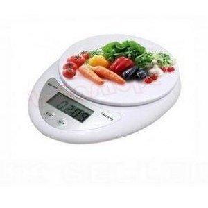 New 5kg 5000g/1g Digital Kitchen Food Diet Postal Household Scales