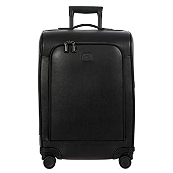 Image of Luggage Bric's USA Luggage Model: VARESE |Size: Spinner 21' Split Frame | Color: BLACK