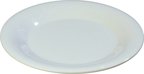 Carlisle 4301802 Durus Wide Rim Melamine Pie Plate, 6.5