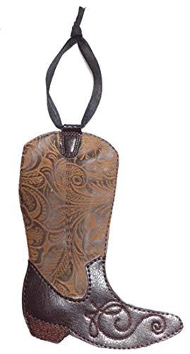 - Handmade Cowboy Boot Christmas Ornament