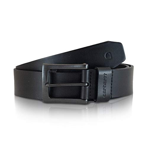 - Carhartt Men's Signature Casual Belt, Anvil Black, 38