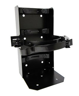 (Lot of 1) Universal Running Board Vehicle Bracket for a 20lb. Fire Extinguisher, Heavy Duty, Color Black by Universal (Image #4)