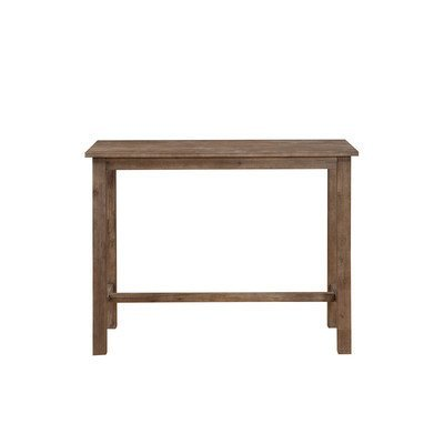 36 Wood Pub Table - Boraam 75026 Sonoma Pub Table, 36 x 47.25 x 23.75, Neutral Driftwood Gray Finish