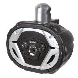 BOSS Audio MRWT69 550 Watt, 6 x 9 Inch, Full Range, 4 Way, Weatherproof, Marine Grade Roll Cage/Waketower Speaker System (Sold Individually)