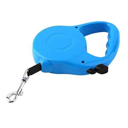 Nylon e plastica morbida maniglia 3M 5M lungo cane retrattile Pet piombo per guinzaglio da addestramento allungabile sei colori disponibili