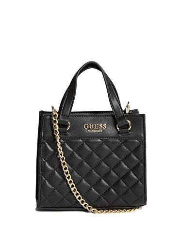 GUESS Factory Women's Taylor Mini Quilted Crossbody (Guess Handbag Under $50)