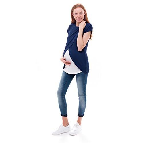 b8c06f713 Ropa Premama Mit Mat Mama Camiseta Lactancia  7TZYt0909643  - €16.10