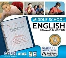 Middle School English Grammar Writing product image
