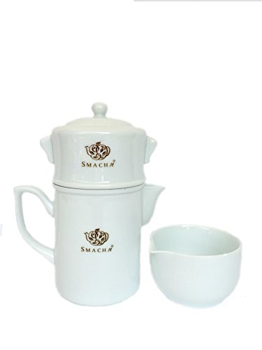 Smacha 12 Ounce Automatic Porcelain Tea