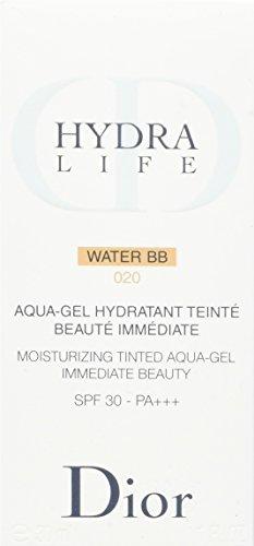 Christian Dior Hydra Life Water SPF 30 No. 020 BB Moisturizing Tinted Aqua-Gel Moisturizer for Women, 1 Ounce