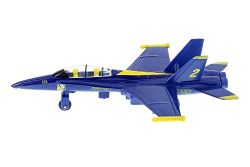 Awesome Model F/A-18 Hornet US Navy Blue Angels Fighter Jet from IA_BIG