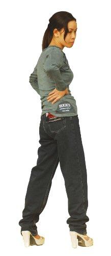 BUCK`s Jeanswear - Camiseta de manga larga - para hombre antracita