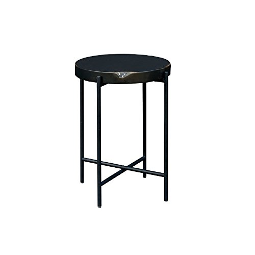 (Moe's Home Collection 22 in. Round Side Table in Gray)