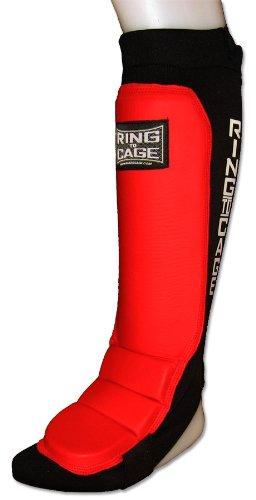 【送料関税無料】 Grappling Shin Instep – Coverd Back For For MMA、タイ式 B005JN99KA Back、Kickboxing – レッド Large B005JN99KA, 岩出山町:f817f077 --- a0267596.xsph.ru